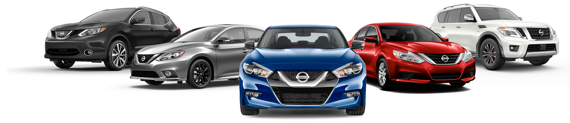 Nissan certified collision repair car line up
