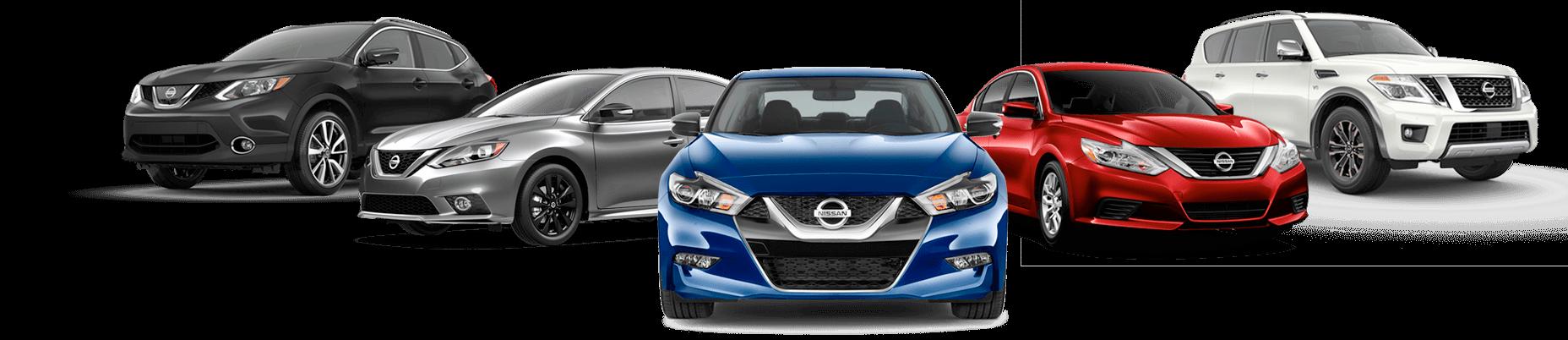 Nissan certified collision repair car line up