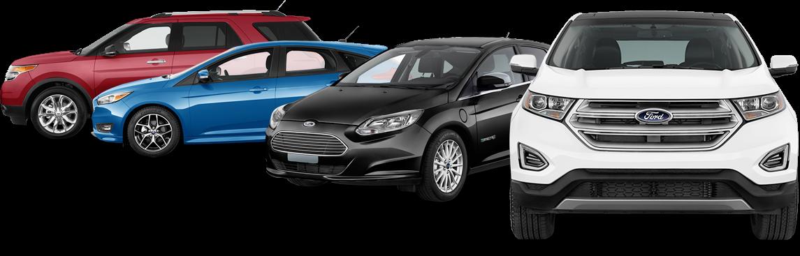 ford certified aluminum collision repair car lineup