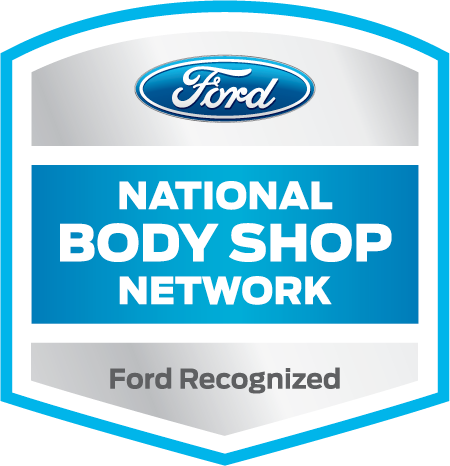 ford certified aluminum collision repair logo